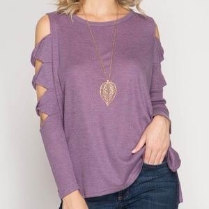 Purple Longsleeve Top